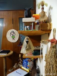 عروسکهای محلی: عروسک برنج، عروسک قشم، عروسک نمدی، گاو مارلیک