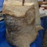 پنیر کهنه در پوستین
