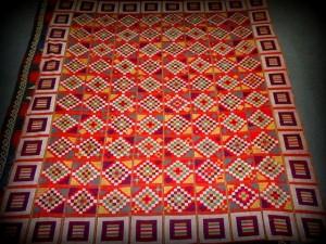 Chadorshab.Tablecloth. Carpet-Flower Motif