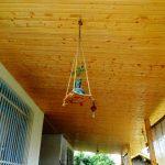 لمبه کاری سقف تلار