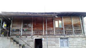 معماری زیگالی، خانه گلی و تلار