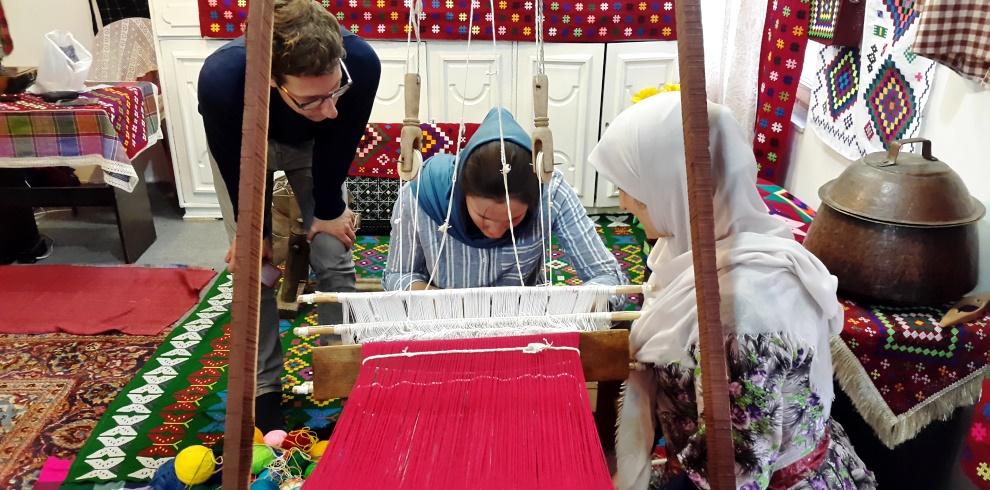 Chadorshab Weaving workshop